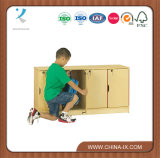 Stacking Children Locker with 4 Secured Compartment