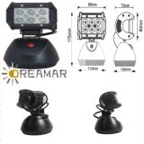 1500lm LED Car Driving Light with Charging, Waterproof IP67