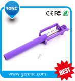 2017 Wholesale Foldable Cable Selfie Stick