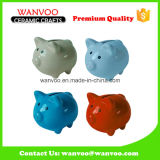 Pig Design Ceramic Home Decoration Money Bank
