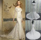 New Design Elegant off White Lace Wedding Dresses