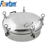Food Grade Sanitary Stainless Steel Tank Manway Cover