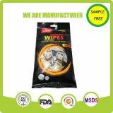 Alcohol Free Cleaning Interior Car Wet Wipes