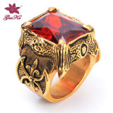 Hot Selling Red Stone Inlay Jewelry Ring Gus-Stfr-029