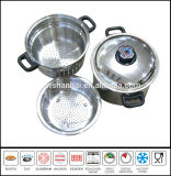 Stainless Steel Pasta Cooker 4PCS Set Kitchenware