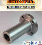"""ASTM A182 3/4"""" Class 2500 F55 Duplex Stainless Long Welded Neck Flange."""