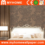 Korea Style Wallcovering with Floral Deep Embossed