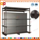 Double Sided Heavy Duty Sturdy Supermarket Display Shelving Unit (Zhs342)