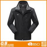 Men′s Black 3 in 1 Jacket