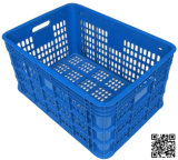 Blue Plastic Basket for Warehouse