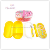 Food Container Food Grade Plastic Kids Lunch Box with Utensils