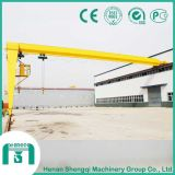 Bmh Type Single Girder Electric Hoist Semi-Gantry Crane
