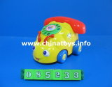 Children Toy Pull Line Telphone Car Toy (085233)