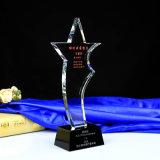2016 New Design Crystal Glass Trophy