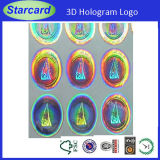 High Security Laser Foil Overlay PVC Identification Card