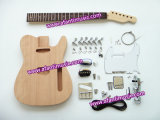 Hot! ! Mahogany Body Tl Style DIY Guitar Kit (ATL-02K)