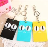 Promotion Gift Carton Silicone Key Chain Key Ring