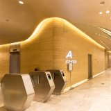 Elegant Indoor Personnel Recognition Access Control Barriers