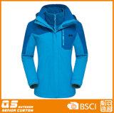 Women′s 3 in 1 Winter Fashion Sport Warm Jacket