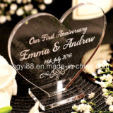 Personalised Wedding Anniversary Heart/Rectangle Plaque Gift