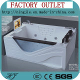 Ningjie Double Rectangle Sanitaryware Massage Bathtub (5210)