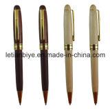 Carved Wood Ball Pen Wooden Pen (LT-B016)