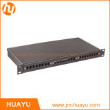 12-48 Cores Powder Coated 1u-2u Rackmount Box Termination