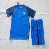 France Home Kid Blue Soccer Kits