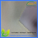 White Cotton Terry Waterproof Breathable Laminated Fabric