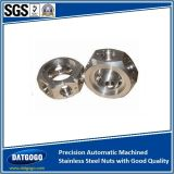 Precision Automatic Machined Stainless Steel Nuts with Good Quality
