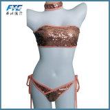 Women Bandage Bikini Set Push-up Padded Bra Swimsuit