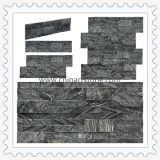 China Wholesale Antic Wooden Culture Stone Slate for Wall Cladding