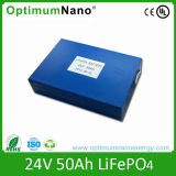 Customized Size 50ah 24V Lithium Ion Battery