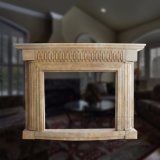 Simple Style Marble Fireplace for Room Decoration T-6061