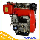 Double Cylinder 4-Stroke Air-Cooled Diesel Engine
