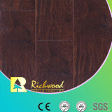 Household 8.3mm Embossed V-Grooved Waxed Edged Laminate Floor