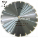 Wet Dry Asphalt Concrete Laser Diamond Circular Cutting Saw Blade