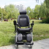 Deluxe Invalid Electric Wheelchair with Ce Certification