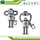 8GB Metal Robot USB Flash Disks with 16GB