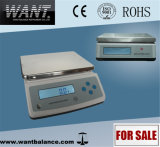 30kg 0.1g Table Top Weighing Scale with Rechargeable Battery