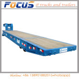 Brand New Solid Tyres Port Terminal RO RO Trailer for Overweight Equipments