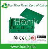 Fiber Optic Splice Tray in ODF Green Color