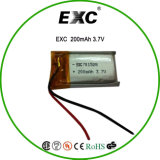701528 Li-ion Battery 3.7V 200mAh Lithium Battery for Recorder