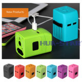Global Travel Charger with USB Port for Promotional Gifts (HS-T101DU)