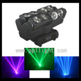 Unlimited Rotate 8PCS *8W LED Moving Head Spider Light Beam Moving Head