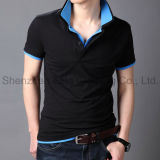 2015 100% Cotton Men′s Polo Shirt (ELTMPJ-513)