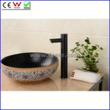 High Body Cold Only Automatic Black Sensor Vessel Faucet (QH0135HR)