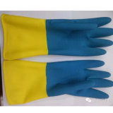 Duty Double Color Latex Safety Industrial Glove