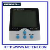 luminous temperature and humidity meter clock