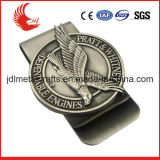 Stainless Steel Material Custom Shaped Promotional Metal Money Clip